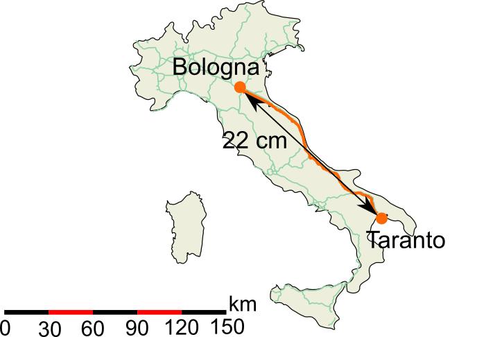 Cartina Italia Con Distanze Km.Calcola Distanza Km
