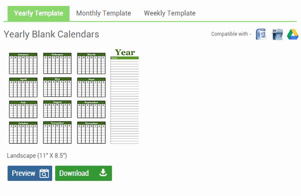 Modello Calendario Word.Creare Calendario Personalizzato