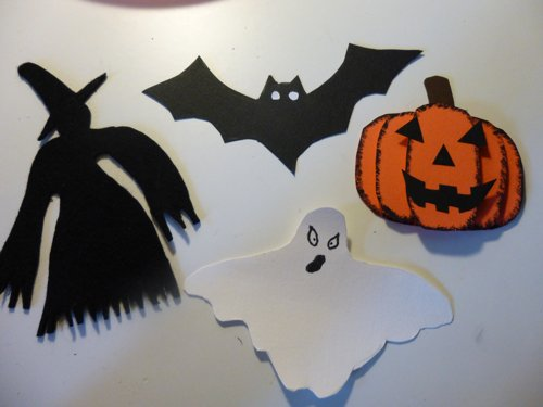 Decorazioni per ghirlanda di Halloween f1929e937e44
