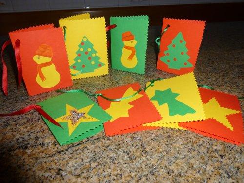 Tutorial Biglietti Di Natale.Biglietti Di Natale Fai Da Te