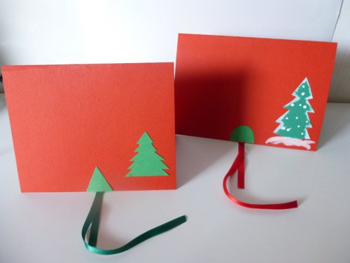 Tutorial Biglietti Di Natale.Biglietti Di Natale Pop Up