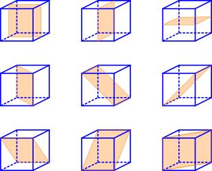 Simmetria rispetto a un piano e piano di simmetria for Piccoli piani di un piano