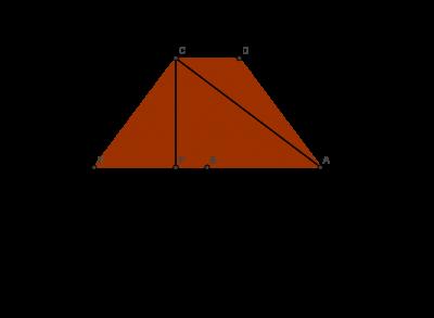 how to find an diagonale di un triangolo rettangolo